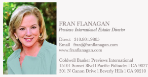 från flanagan pacific palisades luxury estate sales